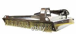 Skid Steer Bradco 78 Ground Shark Brush Cutter Low Flow