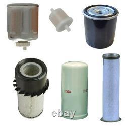 Skid Steer Filtre Set Convient New Holland L140 L150 L160 L170 Ls150 Ls160 Ls170 C17
