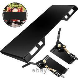 Skid Steer Quick Tach Attachment Mount Plate Conversion Adaptateur Boîte 3/8