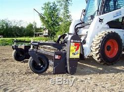 Sol Skid Steer Conditionneur Harley Rake 84 Angle Fixe