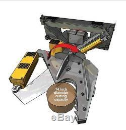 Timberline Htcx 16 Rotating Cisaillement Pour Chargeur Sur Pneus