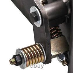 Universal Weld-on Skid Steer Paire D'adaptateur De Conversion Quick Tach Latch Box