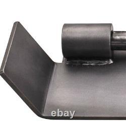 Universal Weld-on Skid Steer Paire D'adaptateur De Conversion Quick Tach Nouveau