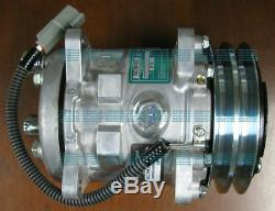 Véritable Sanden Sd5h09 Ac Compresseur Pour Takeuchi Tl140 Skidsteer